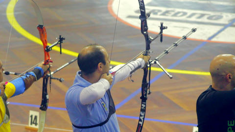 in Line , Male Archery Live Action