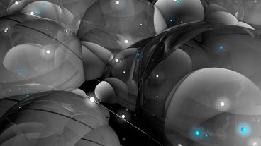 4k Abstract Bubble & Blister Art Background stock footage