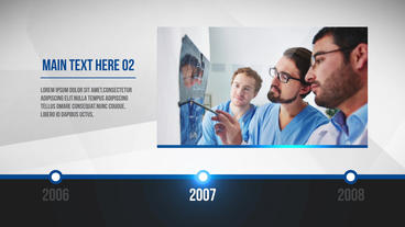 Clean Corporate Timeline After Effects Template