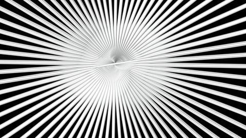 radial white shaft Animation