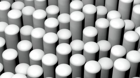 white roundness rod Animation