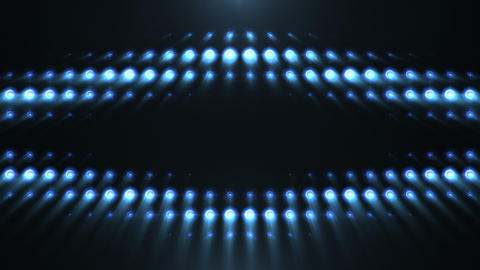 Blue Lights 8 X Looping Patterns