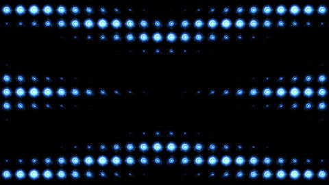 Blue Lights 8 X Looping Patterns 2