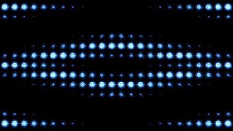 Blue Lights Pattern Animation