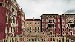 Venice Buildings Clouds Timelapse 06 Animation
