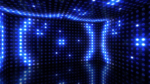 LED Back 2 RArD1 HD Stock Video Footage