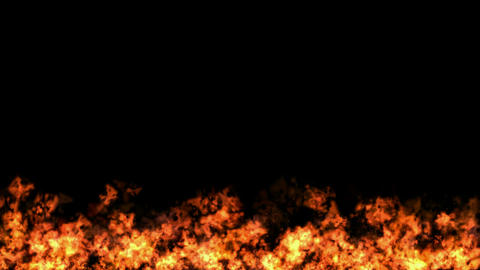 Fire Loop Animated Background Stock Video Footage