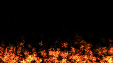 Fire Loop Animated Background Animation