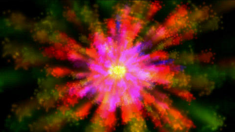 color dazzling swirl fancy... Stock Video Footage