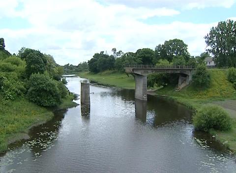 half bridge Stock Video Footage