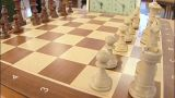 Chessboard stock footage