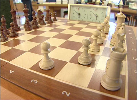 Chessboard Stock Video Footage