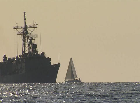 ship Stock Video Footage