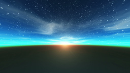 Morning sun Animation