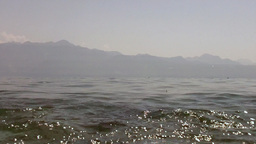 Camera in the Lake 01 Stock Video Footage