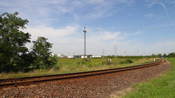 Industrial View 02 railway Stock Video Footage