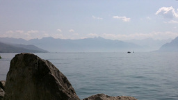 Lake Geneva Lac Leman 06 Stock Video Footage