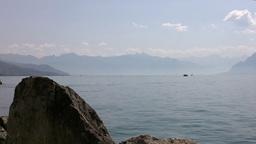 Lake Geneva Lac Leman 06 Stock Video Footage