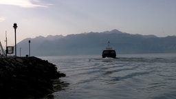Lake Geneva Lac Leman 08 Stock Video Footage