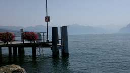 Lake Geneva Lac Leman 18 Stock Video Footage