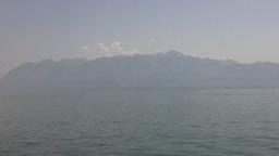 Lake Geneva Lac Leman 20 Stock Video Footage