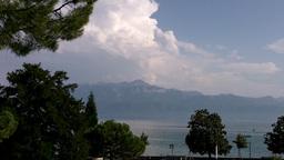 Lake Geneva Lac Leman 22 Stock Video Footage