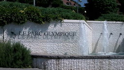 Lausanne Olympic Museum Switzerland 02 Stock Video Footage