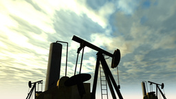 Oil Field 01 Stock Video Footage