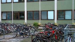 Parked Bikes Footage