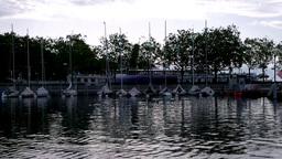 Lake Geneva Lac Leman Stock Video Footage