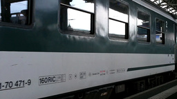 Railway Station Switzerland 05 Stock Video Footage