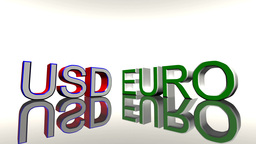 Strong CHF Weak EURO USD 01 Stock Video Footage
