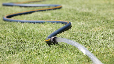 Garden Hose Stock Video Footage