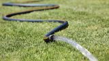Garden Hose stock footage