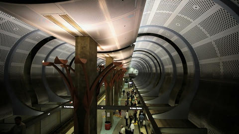 Subway Platform Footage