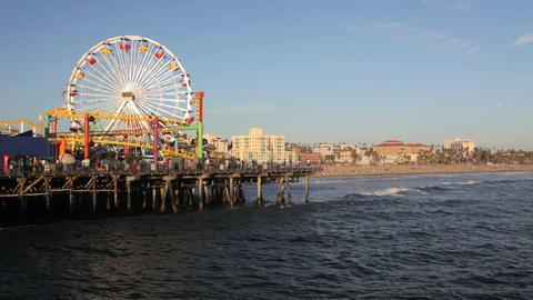 Santa Monica Pier Footage