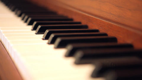 Piano Stock Video Footage
