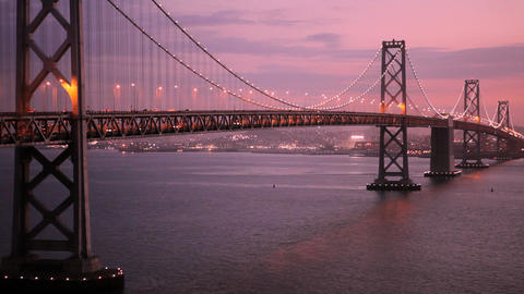 Bay Bridge Stock Video Footage
