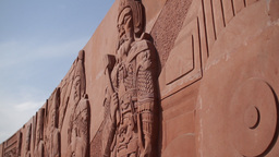 Artistic Wall in China Beijing 01 neutral high dynamic... Stock Video Footage