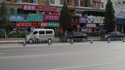 Beijing China Traffic 05 neutral high dynamic color Footage