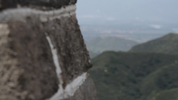 Great Wall in China 11 neutral high dynamic color DOLLY Stock Video Footage