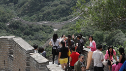 Great Wall in China 13 neutral high dynamic color Footage
