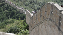 Great Wall in China 15 neutral high dynamic color DOLLY Stock Video Footage