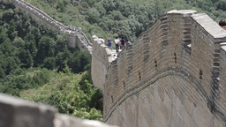 Great Wall in China 15 neutral high dynamic color DOLLY Footage