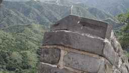 Great Wall in China 19 neutral high dynamic color DOLLY Stock Video Footage