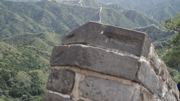 Great Wall in China 19 neutral high dynamic color DOLLY Footage