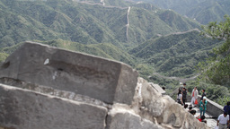 Great Wall in China 21 neutral high dynamic color DOLLY Footage