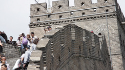 Great Wall in China 31 neutral high dynamic color DOLLY Stock Video Footage