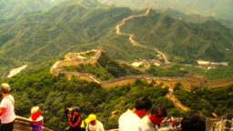 Great Wall in China 36 stylized artsoft diffusion Footage