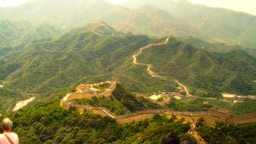 Great Wall in China 36 stylized artsoft diffusion Stock Video Footage